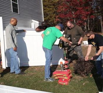 Dennisville Fence Donates Fence To Wounded Atlantic City Police Officer 04