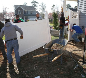 Dennisville Fence Donates Fence To Wounded Atlantic City Police Officer 02