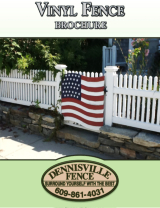 Cover of Legacy Vinyl Fence Brochure by Dennisville Fence