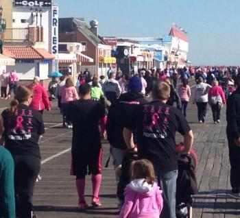 Ocean City Cancer Walk in 2013 image3