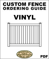 Custom Vinyl Fence Ordering Guide image