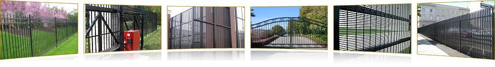 Gate and Access Control Systems Photos Collage image