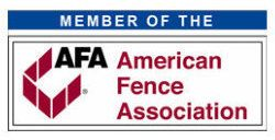 Dennisville Fence Member of The American Fence Association image