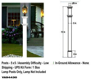 Portsmouth Lamp Post