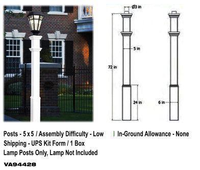 Sturbridge Lamp Post image