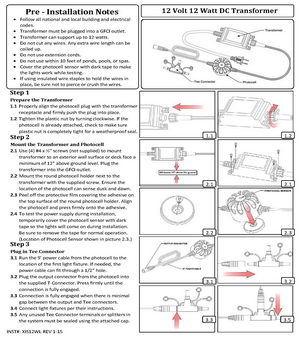 Low-Voltage-Lighting--Install-Guide--12-Volt-12-Watt-DC-Transformer
