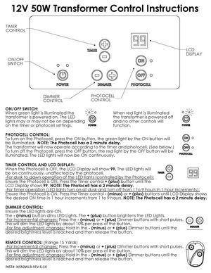 Low-Voltage-Lighting--Install-Guide--12-Volt-50-Watt-Transformer-Control-Instructions