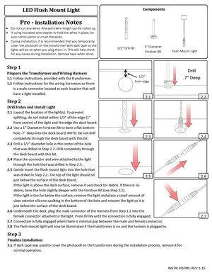 Low-Voltage-Lighting--Install-Guide--LED-Flush-Mount-Light
