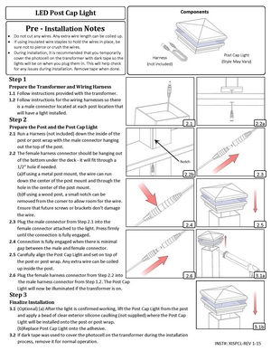 Low-Voltage-Lighting--Install-Guide--LED-Post-Cap-Light