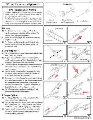 Low-Voltage-Lighting--Install-Guide--Wiring-Harness-And-Splitters
