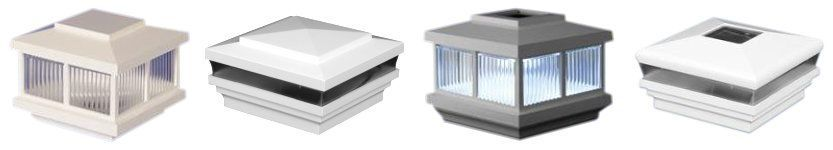 Low-Voltage Lighting Post Caps image