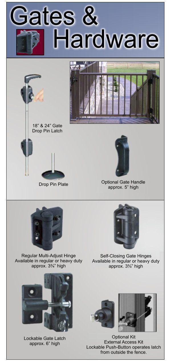 Aluminum Railing Gates and Hardware image 03