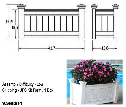 Windsor Long Planter Box image