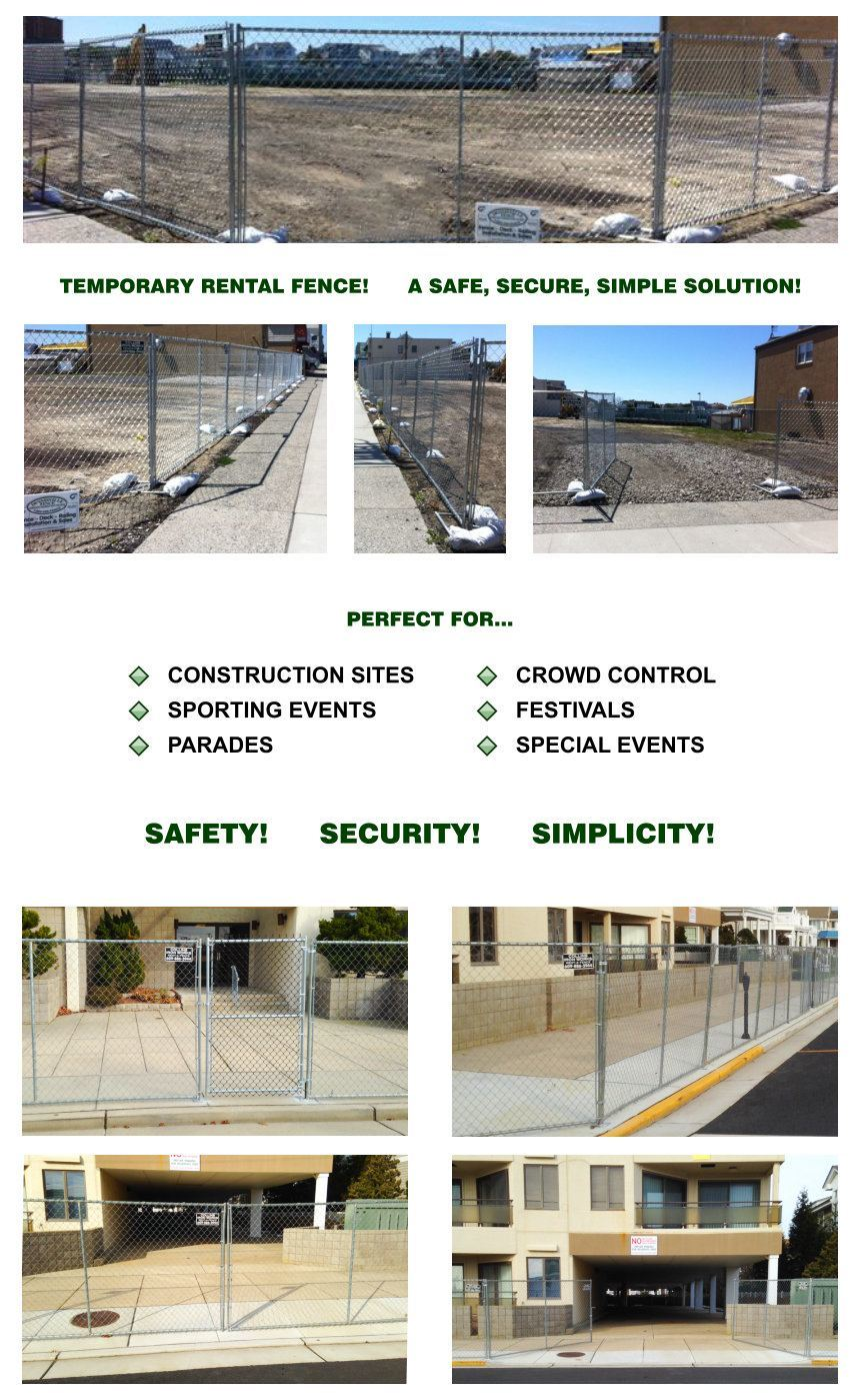 Rental Fence - Temporary Fence image