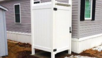 Outdoor Shower Enclosure image